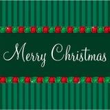 Gem Christmas Card Arkivbild