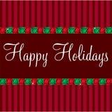 Gem Christmas Card Royalty-vrije Stock Afbeelding
