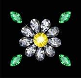 Gem Flower Royalty-vrije Stock Afbeeldingen