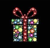 Gem gift box Stock Images