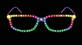 Gem Glasses Royalty Free Stock Photo