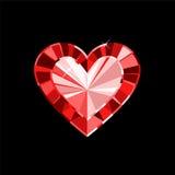 Gem Heart Royalty-vrije Stock Afbeelding