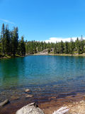 Gem Lake. Caribou Wilderness, Northern California Royalty Free Stock Photos
