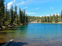Gem Lake. Caribou Wilderness, Northern California Royalty Free Stock Image