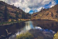 Gem Lake isolado imagens de stock royalty free