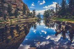 Gem Lake Reflections fotos de stock royalty free