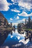 Gem Lake Reflections foto de stock