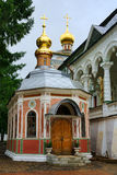 Gem-looking St. Micah's Church in Holy Trinity Lavra Stock Photos