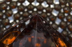 Gem in Metal Royalty Free Stock Photography