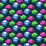 Gem pattern Stock Photos