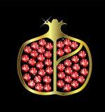 Gem Pomegranate Royalty Free Stock Image