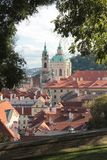 A Gem of Prague - St. Nicholas Church royalty free stock photos