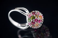 Gem ring Stock Image