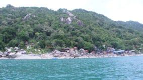 Gem runt om Koh Phangan stock video