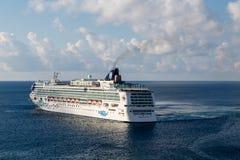Gem Sailing Away norueguês imagem de stock