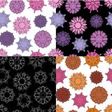 Gem seamless pattern Stock Images