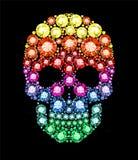 Gem Skull Imagens de Stock Royalty Free
