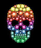 Gem Skull Royalty Free Stock Images