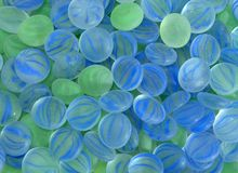 Gem Stone Background. Blue green gemstone background Royalty Free Stock Photos