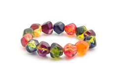 Gem stone bracelet Stock Images