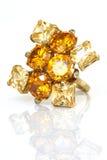 Gem stone ring Royalty Free Stock Photos