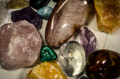 Gem stones Royalty Free Stock Photography