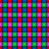 Gem stones seamless pattern Stock Photography
