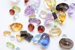 Gem stones Royalty Free Stock Photos