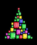 Gem Tree Foto de Stock Royalty Free