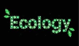 Gem word ecology Stock Photos