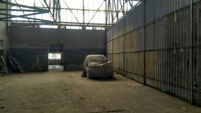 Gema abandonada um carro Foto de Stock Royalty Free