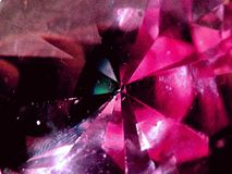 Gema bonita do cristal Imagem de Stock Royalty Free