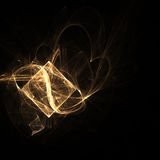 Gema del fractal Fotos de archivo