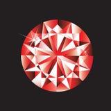 Gema do rubi Imagens de Stock