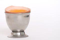 Gema em um copo de ovo Imagens de Stock Royalty Free