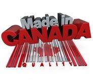 Gemaakt in Canada Royalty-vrije Stock Foto