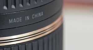 Gemaakt in China Stock Foto