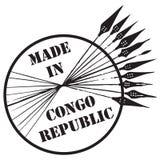 Gemaakt in de Republiek van de Kongo Royalty-vrije Stock Foto's