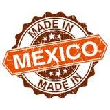 gemaakt in de uitstekende zegel van Mexico royalty-vrije illustratie