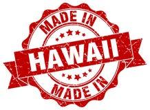 gemaakt in de verbinding van Hawaï royalty-vrije illustratie