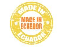Gemaakt in de zegel van Ecuador Royalty-vrije Stock Foto