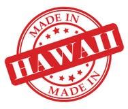 Gemaakt in de zegel van Hawaï Royalty-vrije Stock Fotografie