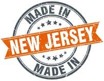 Gemaakt in de zegel van New Jersey royalty-vrije illustratie
