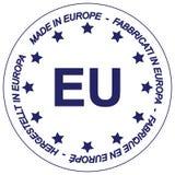Gemaakt in Europa royalty-vrije illustratie