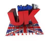 Gemaakt in het UK, kwaliteit Stock Afbeelding