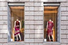 Gemaakt in Italië: De boutique van Missoni Stock Afbeelding