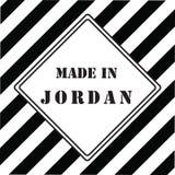 Gemaakt in Jordanië Royalty-vrije Stock Afbeeldingen
