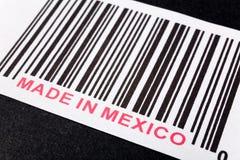 Gemaakt in Mexico royalty-vrije stock afbeelding