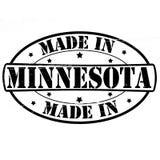 Gemaakt in Minnesota royalty-vrije illustratie