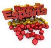 Gemaakt in Spanje Stock Foto's
